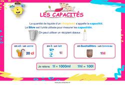 Capacités - Cycle 3 - Affiche de classe