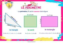 Périmètre - Cycle 2 - Affiche de classe