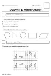 Symétrie – Ce2 – Evaluation