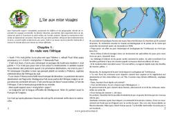 L'île aux mille visages – Cm1 – Cm2 – Famille vadrouille – Episode 4
