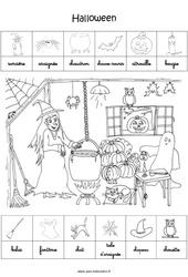 Scène et exploitation pédagogique d'Halloween – GS – Grande section
