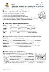 Imparfait de l'indicatif des verbes du 3 ème groupe en -re -ir-oir -dre – CM2 – Exercices à imprimer