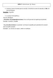 Ecrire le son - ill ou y -  Leçon – Cm2 – Orthographe – Cycle 3