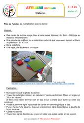 Multiplication avec le damier – Algèbre – Liste des matériaux