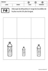 Mathématiques - Semaine du goût - PS - Petite section