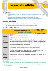 Ecrire un récit / nouvelle policière – CM1 – CM2 – Rédaction – Production d'écrit – Fiche de préparation