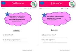 Je m'entraîne à la lecture fine – CE1 – Lectures d'inférences
