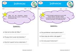 Je m'entraîne à la lecture fine – CM2 – Lectures d'inférences