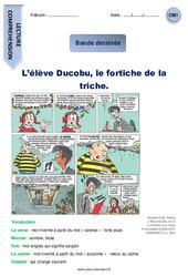 L'élève Ducobu, le fortiche de la triche – CM1 – Bande dessinée – Lecture