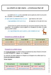 Prétérit en BE+-ing – 5ème – Cours – 2