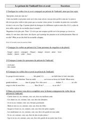 Présent de l'indicatif être et avoir – Exercices – Conjugaison – Cm1 – Français – Cycle 3