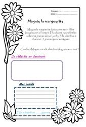 Maguie la marguerite – Ce1 – 1 histoire 1 problème