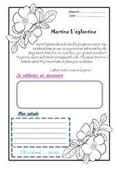 Martine l'églantine – Ce1 – 1 histoire 1 problème