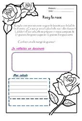 Rosy la rose – Ce1 – 1 histoire 1 problème