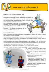 Le prince souris – Cm1 – Cm2 – Conte détourné – Questionnaires