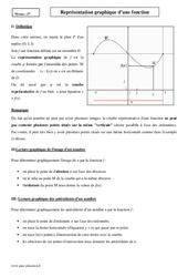 Représentation graphique – Seconde – Cours