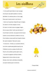 Les oisillons de François Fabié – Poésie animaux – cycle 3 : ce2 cm1 cm2