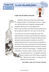 La tour Eiffel – Ce1 – Ce2 – Lecture pluridisciplinaire
