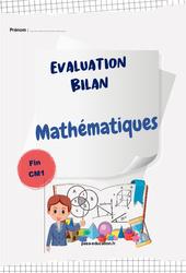 Mathématiques – Cm1 – Bilan fin d'année avec corrigés