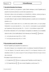 Echantillonnage – Première – Cours
