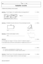 Aires – 6ème – Evaluation à imprimer
