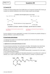 Isométrie ZE - Première - Cours