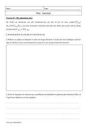 Piles – Première – Exercices corrigés