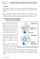 Tectonique des plaques et ressource locale – Première – Cours