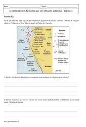 Lithosphère et efficacité prédictive – Première – Exercices corrigés