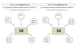 Compléments à 10 – Ce2 – Leçon
