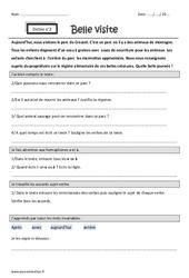 Homophones a et à – Cm1 – Dictée accompagnée n°2