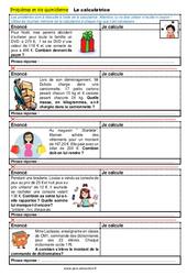 La calculatrice - CM1 - CM2 - 6ème - SEGPA - EREA - Problèmes et vie quotidienne