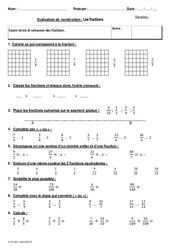 Fractions – Cm2 – Bilan