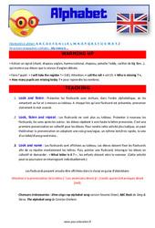 Alphabet – CM1 – CM2 – Anglais – Lexique – Séquence complète – Cycle 3