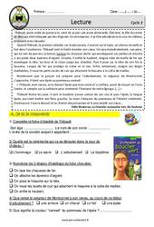 Le chevalier du bouclier vert - CM1 - CM2 - Lecture - EDL