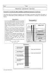 Cycle de vie – Matériaux – Terminale – Exercices corrigés