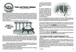 Tout sauf Rome Antique! - Gaule Romaine - Famille Pass'Temps - Lecture 4