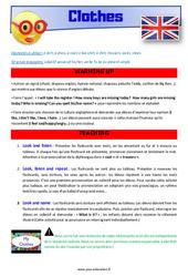 Clothes – CE1 – CE2 – Anglais – Lexique – Séquence complète – Cycle 2
