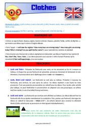 Clothes – CM1 – CM2 – Anglais – Lexique – Séquence complète – Cycle 3