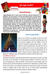La magie de Noël – Cm1 – Cm2 – Lecture pluridisciplinaire