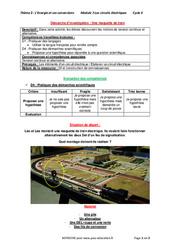 Une maquette de train – 4ème – Démarche d'investigation avec les corrections