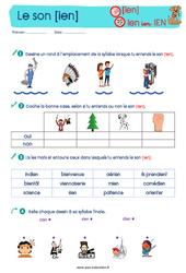 Le son [ien] - Etude du code / les sons - Cycle 2 - CP - CE1