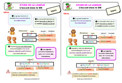Accord dans le groupe nominal (GN) au Ce1 – Étude de la langue – Leçon