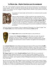 Le Moyen Age repères historiques pour les enseignants - Histoire - Moyen Age - Cm1 - Cycle3