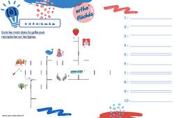 Le son [è] pour le CE2 - Phonologie - Ortho' fléchés