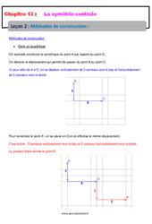 Méthodes de construction – 5ème – Cours