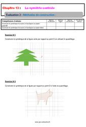 Méthodes de construction – 5ème – Evaluation, bilan, contrôle avec la correction
