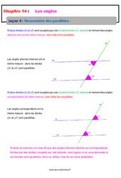 Reconnaitre des parallèles – 5ème – Cours