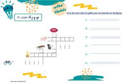 Confusions des sons [ch] et [j] – CP – Phonologie – Ortho' fléchés
