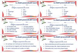 Les noms - Ce1 - Ce2 - Rituels - La classe grammaticale